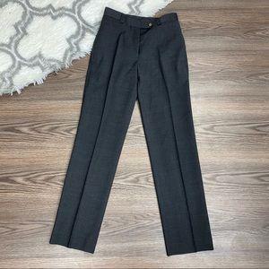 Dolce & Gabbana Grey Wool Dress Pants